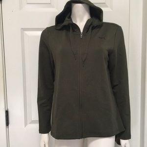 Puma Full-Zip Hoody Jacket, Size L, NWT!